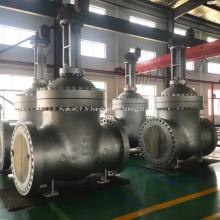 Robinet-vanne en acier moulé de grande taille API 600