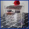 High Quality Acrylic Cosmetic Organizer Makeup Box