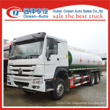 SINOTRUK HOWO 6X4 drive wheel 20000liters drinking water truck price
