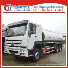 SINOTRUK HOWO 6X4 roda motriz 20000liters água potável preço caminhão