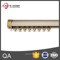 hot sale aluminium track or curtain track with pulley system