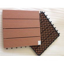 WPC DIY Interlocking Tiles Plastic Base Deck Tile