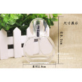 Bouteilles en verre de parfum en cristal rond pour bouteilles parfumées