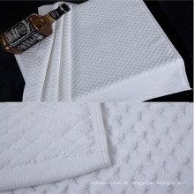 100% Baumwolle 32s weiße Farbe Badematte