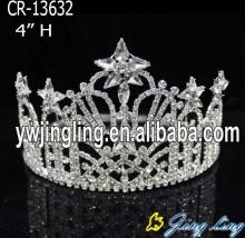 Fashion Rhinestone Star Pageant Crown