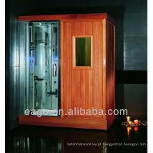 Sauna finlandesa com chuveiro a vapor (DS201F3)