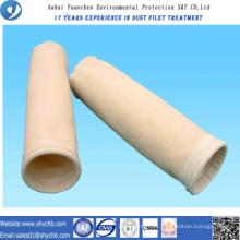 Bolsa de filtro de polvo compuesto PPS y PTFE para planta de energía de carbón con muestra gratis