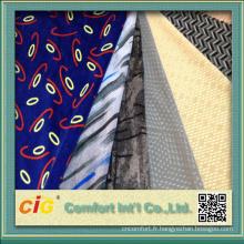 100 % polyester, tissu de siège Auto Design d'impression