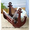 Творческий Стиль деревянный Стеллаж для выставки товаров/выставки для книги
