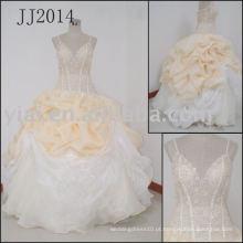 Vestido de noiva real JJ2014