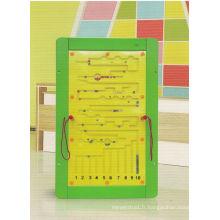 Jouet en bois pour jouer au jeu de maths pour les enfants et les enfants