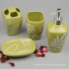 Accessoire de salle de bains en céramique de haute qualité (ensemble)