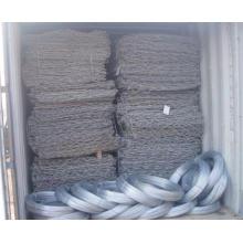 Caixa de gabions revestida de plástico / Gabion Box Gaiola de pedra / Gabion Basket