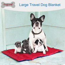 Foldable Portable Dog Pad Reversible Waterproof Nylon Dog Pet Blanket