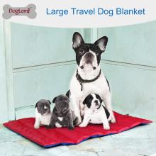 Cobertor de animal de estimação impermeável reversível do cão portátil dobrável da almofada do cão