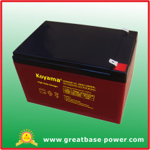 Long Service Life 12V 12ah Backup Battery for High Rate UPS/EPS Systems