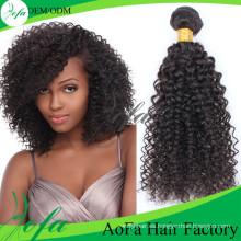 Pelo indio / pelo virginal / cabello humano Remy / extensión del cabello humano