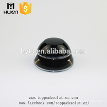 2017 novo estilo 30 ml creme para o rosto recipiente preto jarro de plástico acrílico