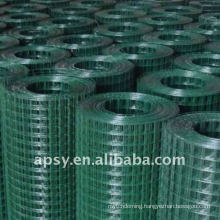 PVC coated metal welded mesh fence panels