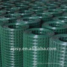 ПВХ покрытием металлические панели загородки сваренной сетки