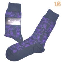 Men′s Mercerized Cotton Dress Sock