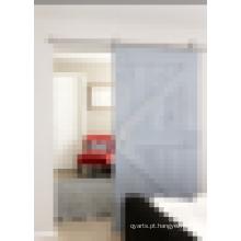 Forro de porta deslizante de estilo celeiro antigo para preço de sala