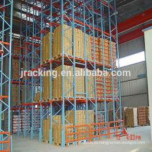 Estante de paletas para almacenamiento Jracking estante de radio paletas de metal pesado pesado de alta densidad