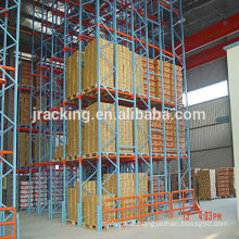 Pallet rack for storage Jracking economical high density heavy duy metal radio shuttle pallet racks