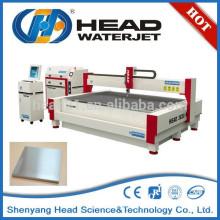 Sem rebarba e aquecida efetuada zona de jato de água níquel ligas máquina de corte