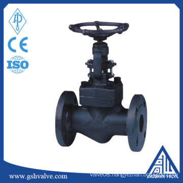 forged steel flange manual globe valve