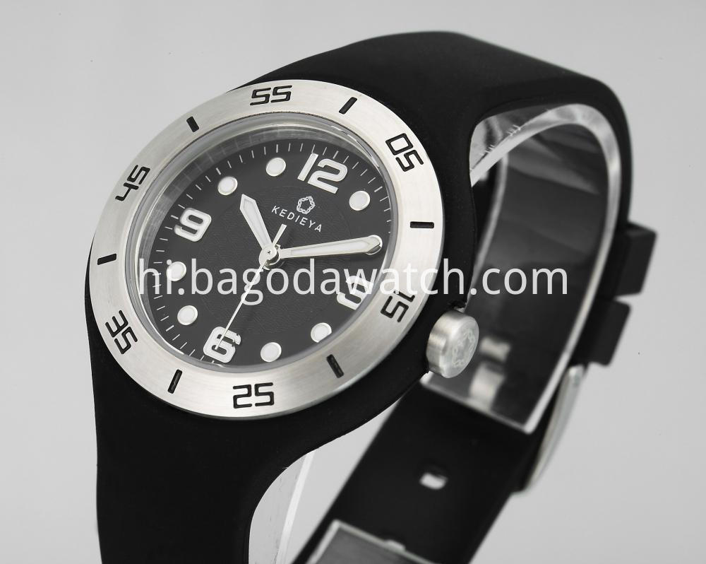 Rubber Strap Watches For Women