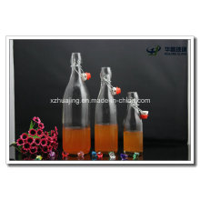 250ml 500ml and 1000ml Round Swing Top Glass Oilve Oil Bottles