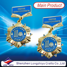 Russia Gold Metal Medal Sign Military Medal Badge Hard Enamel Medal (LZY00011)