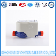 Medidor de agua de lectura remota inalámbrico con muestreo de pulso