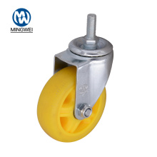 Threaded Stem 4 Inch TPR Casters