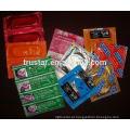 Bolsa de alumínio para embalagem de preservativos
