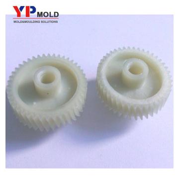 Molde de engranaje de plástico POM y PA66 inyectan molde y plástico moldeado por inyección en China