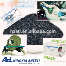 Best Wood Based Powder Activated Carbon(PAC) Used For Food And Beverage