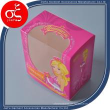 Caixa pequena para presente impresso em papel de alta qualidade