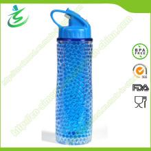 18oz Ice Cooling Gel Isolierte Wasserflasche mit Etikett
