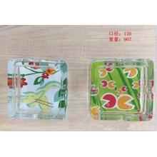 Cenicero de vidrio con buen precio Kb-Hn07679