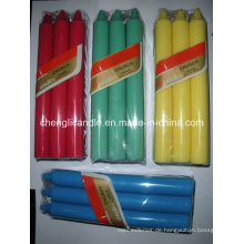 Farbe und kreative Funktion lange Stick Pillar Hochzeit Kerze
