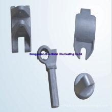 Aluminium Die Casting Part pour l'équipement de construction avec ISO9001: 2008, SGS, RoHS