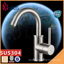 New products SUS 304 stainless steel basin faucet luxury