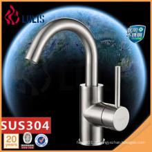 Novos produtos SUS 304 torneira de aço inoxidável faucet luxo
