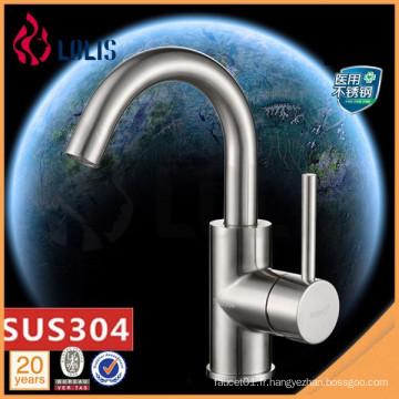 Nouveaux produits Robinet de lavabo en acier inoxydable SUS 304