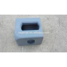 bloco padrão do canto do recipiente iso1161