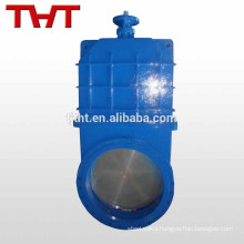 big size gear operated full bore bevel gear gate valve dn32