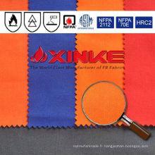 Xinke tissu ignifuge tissé meta aramid iiia pour les vêtements de travail industriels