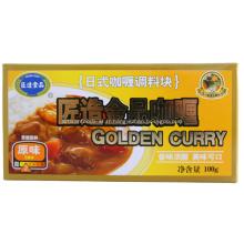 100g d'or Curry japonais Cube saveur originale